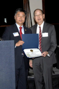 David Kuroda with Congressman Lieu